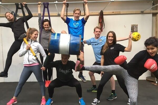 Sportdag trainees