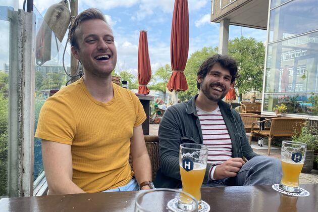 Borrel trainees in Amsterdam